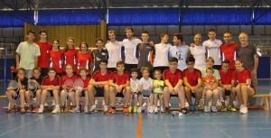 Participantes en el Torneo social de verano