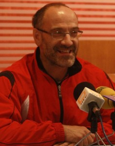 Ricardo Constante, durante la presentación del torneo. | VÍCTOR IBÁÑEZ