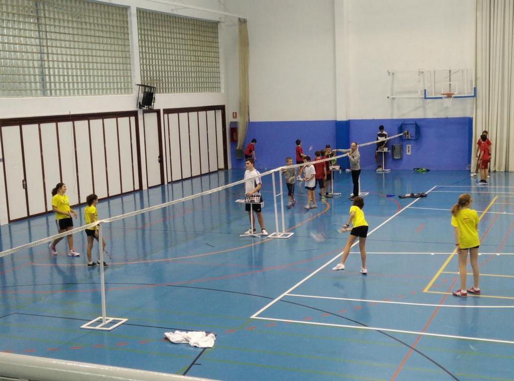 En juego el primer torneo del Campeonato Escolar Provincial de Huesca en Binéfar