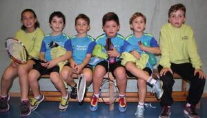 Jugadores Sub 9 y Sub 11 de Bádminton Huesca en Barbastro. | S.E.