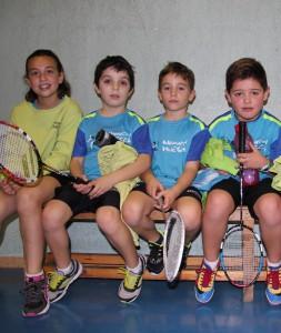 Los Sub 11 de Bádminton Huesca ya logran sus primeros éxitos. | S.E